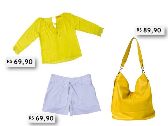 O amarelo vem com tudo no verão.