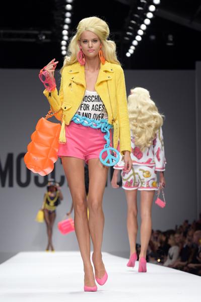 Moschino - Runway - Milan Fashion Week Womenswear Spring/Summer 2015
